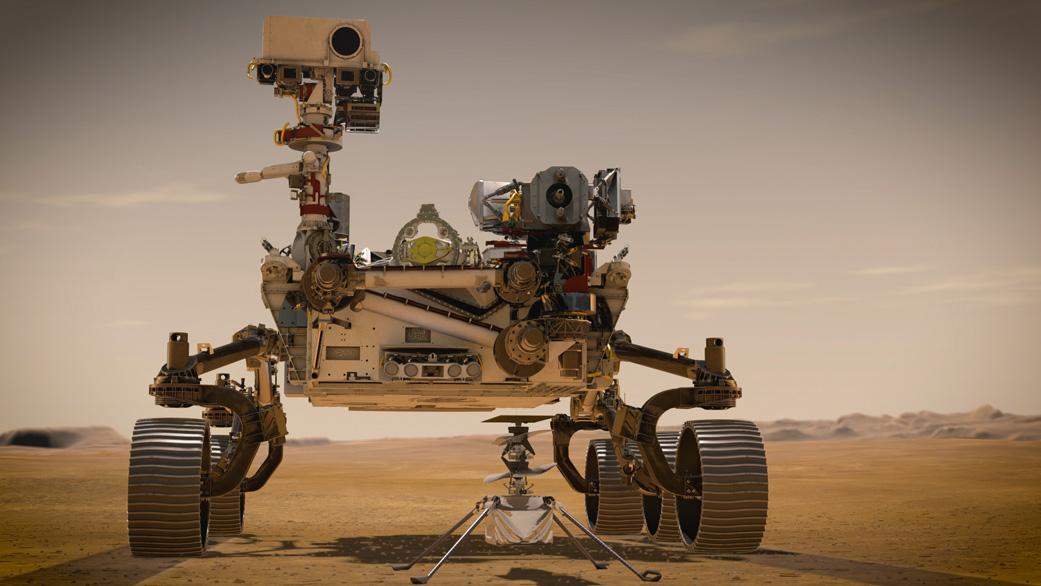 visuel du robot de la Nasa : Perseverance